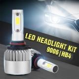 Pack Of 2 Cob Led Auto Car Headlight 40W 10000Lm All In One Car Led Headlights Bulb Fog Light White 6000K Head Lamp H1 H4 H7 H8 H9 H10 H11 H13 Hb1 Hb5 9003 9008 Models 9006 Hb4 Intl Lower Price