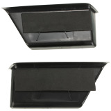 Price Pair Black Front Door Armrest Storage Box Containers For Benz C Class W204 08 13 Oem New