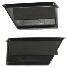 Wholesale Pair Black Front Door Armrest Storage Box Containers For Benz C Class W204 08 13