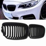 Price Comparisons Of Pair Matte Black Wide Front Kidney Grill Grilles For Bmw F20 F21 11 14 1 Series Intl