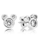 Price Comparisons For Pandora Disney Dazzling Mickey Stud Earings Clear Cz With Pandora Cardboard Box 290577Cz Intl