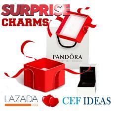 Pandora Lazada Birthday Surprise Box 2 Charms In 1 Box Lowest Price