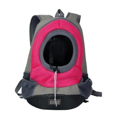 Sale Pet Backpack Transportation Dog Cat Pet Travel Dog Carrier Shoulder Bag Outdoor Travel Backpack Size L Rose Red Intl Oem Cheap