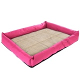 Cheaper Pet Dog Cat Summer Cooling Soft Bed Cushion Pad Red Xl 69 55 8Cm Intl