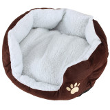 Price Pet Dog Puppy Cat Soft Fleece Warm Nest Bed Plush Pad Cotton Mat House Coffee Intl Online China