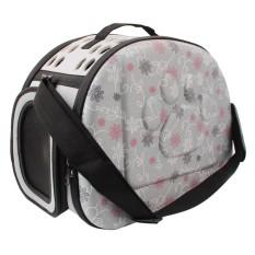 Pet Eva Travel Carrier Shoulder Bag Folding Portable Breathable Outdoor Bag - Intl By Sportschannel.