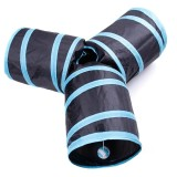 How To Buy Pet Toys Three Way Pet Play Tunnel Collapsible Creak Tube With Hanging Ball For Cat Rabbit Puppy Dimensions F Intl