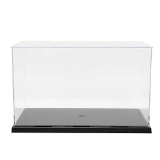 Cheap Plastic Acrylic Display Show Box Case Toy Dustproof Tray Protection 7 5 H Intl
