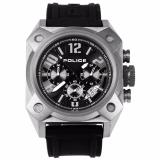 Sale Police Fighter Quartz Black Rubber Band Analog Mens Watch Pl13805Jsu Pl13805Jsu 02 Police Original