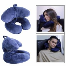 Sales Price Polyester Pillow For Airplanes Car Train Office Sch**l Nap U Shaped Pillow J Shaped Neck Pillow Unique Design Travel Pillow Intl