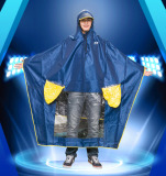 Cheap Poncho Single 517 Raincoat Motorcycle Scooter Double Peak Increase Thickening Intl
