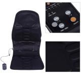Brand New Portable Car Seat Massage Cushion Heated Mat Massager Black Eu Plug Intl