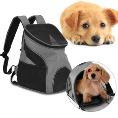 Portable Pet Backpack Breathable Soft Dog Cat Carrier Puppy Travel Bag Outdoor Use - Intl By Highfly.