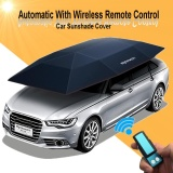 Top Rated Portable Removable Automatic Car Umbrella Roof Sunshade Cover Remote Control Intl