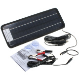 Buy Portable Solar Panel Power Battery Charger Backup For Car Boat Automobile 12V 4 5W Oem Online