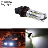Wholesale Possbay 2 X 80W White P13W Led Bulbs High Power For Chevy Camaro Fog Lamp Driving Lights