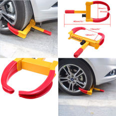 Deals For Possbay Universal New Anti Theft Security Wheel Clamp Lock For Caravan Car Van Vehicle