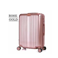 Sale Premium Luggage Rose Gold Size 24 Inch Jiji