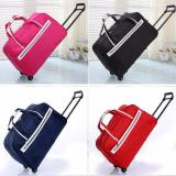 Buy Premium Red Foldable Travel Luggage Suitcase Lightweight Winter Travel Overseas Trolley Bag