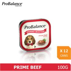 Cheap Probalance Gourmet Selection 100G Prime Beef Flavour X 12 Pcs