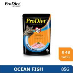 Prodiet 85G Wet Cat Food Ocean Fish Flavour X 48 Packs Singapore