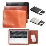 Brand New Pu Leather Laptop Sleeve Bag Case Pouch Cover For 13 Notebook Macbook Air Pro Intl