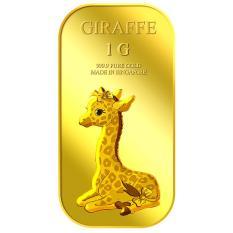 Discount Puregold 1G Female Giraffe Gold Bar 999 9 Puregold On Singapore