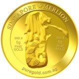 Sales Price Puregold 5G Sg Merlion Fountain Gold Coin 999 9