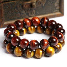 How To Buy Qian Male And Female Tiger Eye Stone Crystal Bracelet