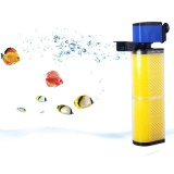 Quiet 3 In 1 Design Aquarium Internal Filter Multi Functional Fish Tank Filter Air Pump Oxygenation Aquarium Pump 220 240V Aq102F Intl Review