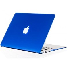 Best Rated Raidfox Macbook Air 13 Inch Hard Case Rubberized Soft Touch Snap On Shell Rubber Protector Cover For Apple Mac Book Air 13 3 Display A1369 A1466 No Cd Room Drive Frosted Matte Blue Intl