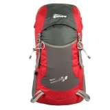 Best Reviews Of Red Foldable Backpack 35L For Men Women Kids Light Weight Travel Bag Large Skin Bag Cycling Waterproof Resistant Hiking Gym Beach Jogging Trekking