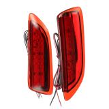Retail Red Lens Led Rear Bumper Reflector Tail Brake Stop Fog Light For Toyota Corolla Ct200H Intl