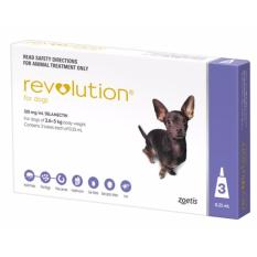 Compare Price Revolution For Dogs 2 6 5 Kg 3 Doses Revolution On Singapore