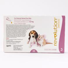 New Revolution For Puppy Kitten 3 Doses