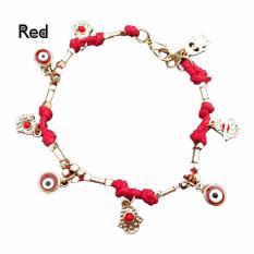 Rorychen Turkey Hamsa Evil Eye Hand Woven Bracelets Good Luck Bracelet Intl Free Shipping