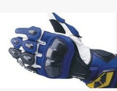 RS-TAICHI RST047 Racing Gloves Motorcycle Gloves Motorcycle Gloves Long Drop(Color:Blue)(Size:M) - intl