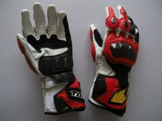 RS-TAICHI RST047 Racing Gloves Motorcycle Gloves Motorcycle Gloves Long Drop(Color:Red)(Size:XL) - intl