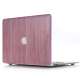 Buy Rubberized Hard Shell Protective Case Cover For Macbook 12 Inch Model A1534 Wood Grain Online