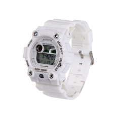 Purchase S And F New Man Swimming Waterproof Silicone Strap Watch Sports Digital Watch White Online