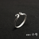 Compare Price Luolinglong Couple S Silver Matching Rings Oem On China
