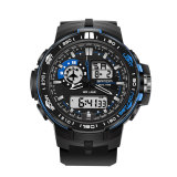 Sale Sanda 737 Men S Fashion Outdoor Sports Waterproof Noctilucent Watch Blue Sanda Online