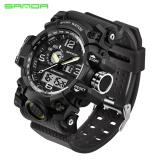 Sanda Brand Watch Men S Military Sport Watch Luxury Famous Electronic Led Digital Wrist Watch Male Relogio Masculino 742 Intl Review