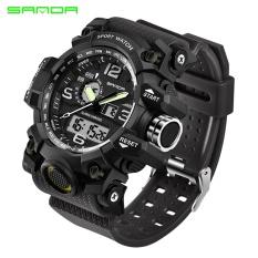 Discount Sanda Brand Watch Men S Military Sport Watch Luxury Famous Electronic Led Digital Wrist Watch Male Relogio Masculino 742 Intl Sanda China