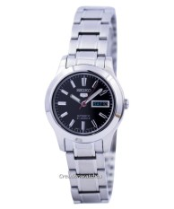 Discount Seiko 5 Sports Automatic 21 Jewels Women S Silver Tone Stainless Steel Strap Watch Symd95K1 Singapore