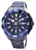 Seiko 5 Sports Automatic 24 Jewels Men S Black Ip Stainless Steel Strap Watch Srp797K1 In Stock