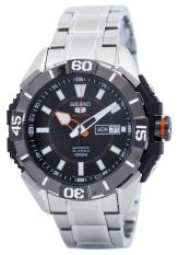 Price Comparisons For Seiko 5 Sports Automatic 24 Jewels Men S Silver Tone Stainless Steel Bracelet Watch Srp795K1