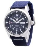 Price Comparisons Seiko 5 Sports Automatic Men S Blue Nylon Strap Watch Snzg11K1