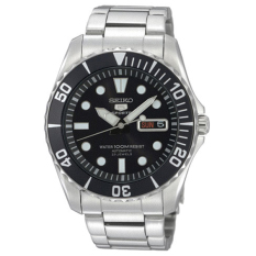 Seiko 5 Sports Automatic Mens Stainless Steel Watch Snzf17k1 By Watchspree.