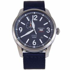 Seiko 5 Sports Automatic Mens Watch Nylon Strap SSA301K1